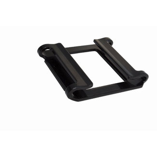 Keylock buckle black 50 mm
