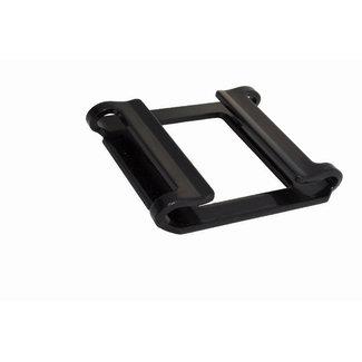 Keylock buckle zwart 50 mm