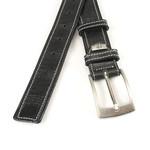 JV Belts Unisex riem zwart