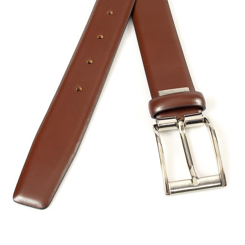Miguel Bellido Classic Rood bruine pantalonriem