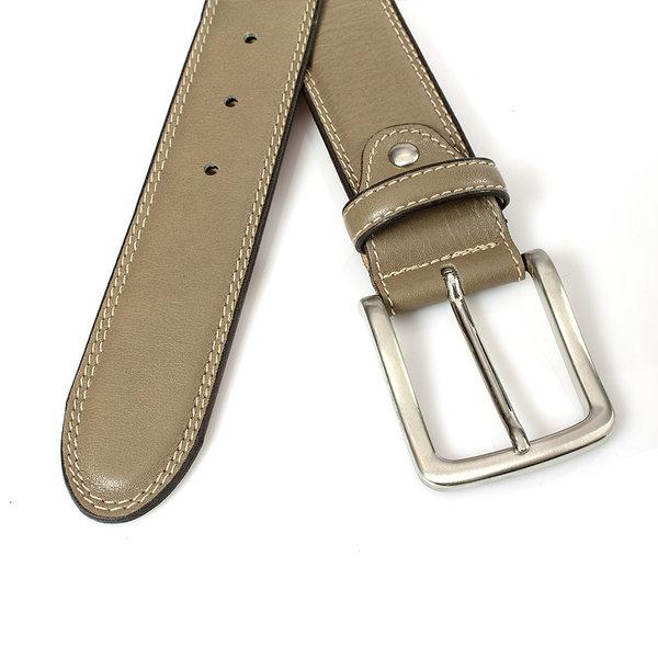 JV Belts Taupe herenriem