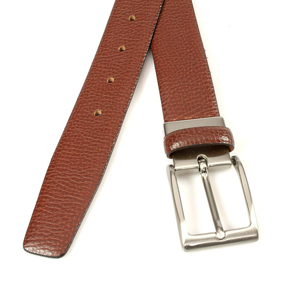 Miguel Bellido Classic Pantalon riem rood bruin