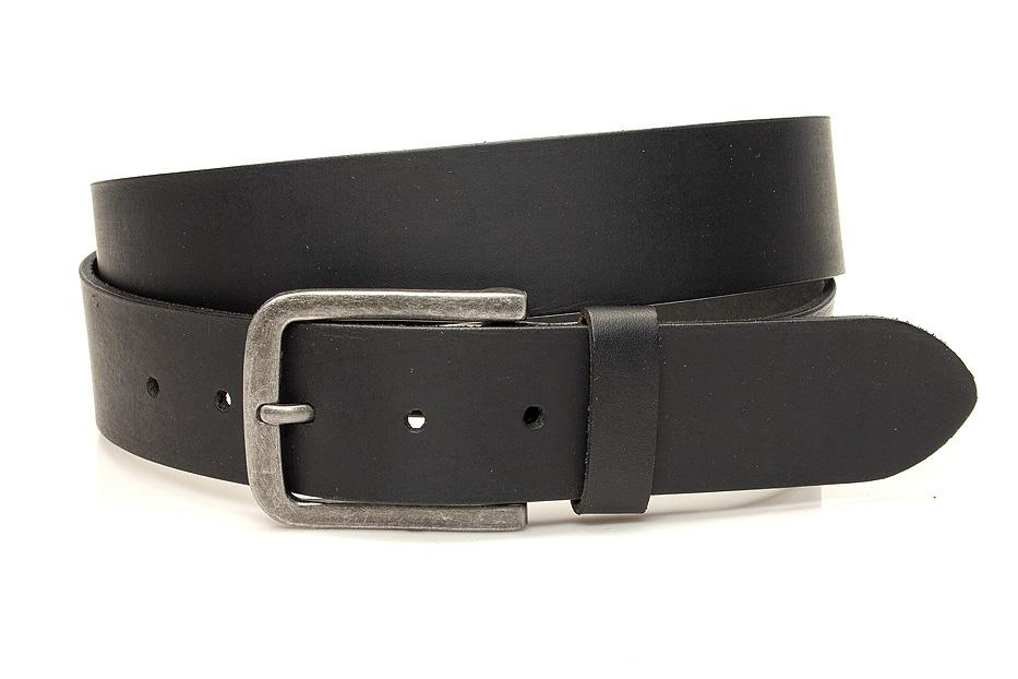 Thimbly Belts Heren jeans riem zwart
