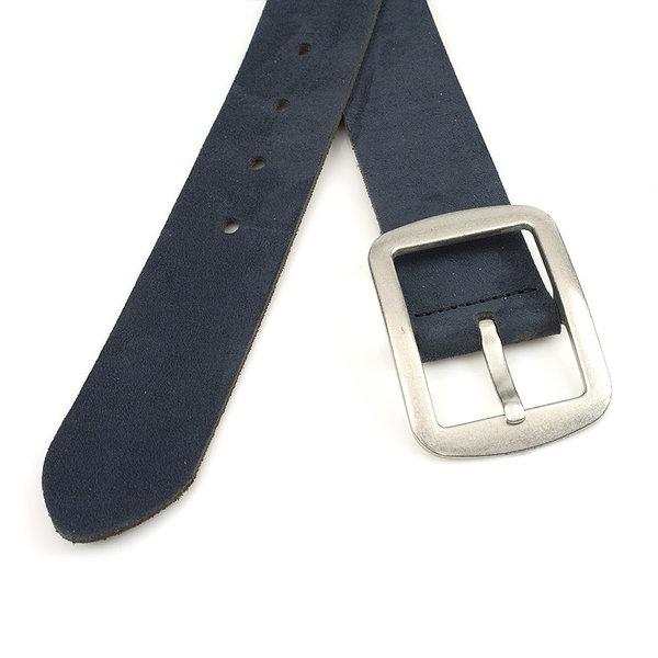 Thimbly Belts Dames ceintuur blauw nubuck