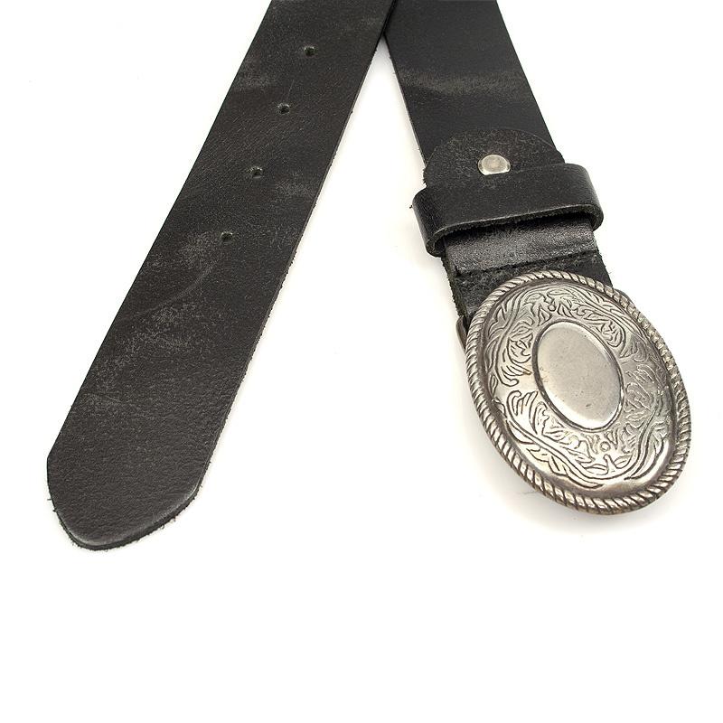 Thimbly Belts Damesceintuur zwart met ornamenten