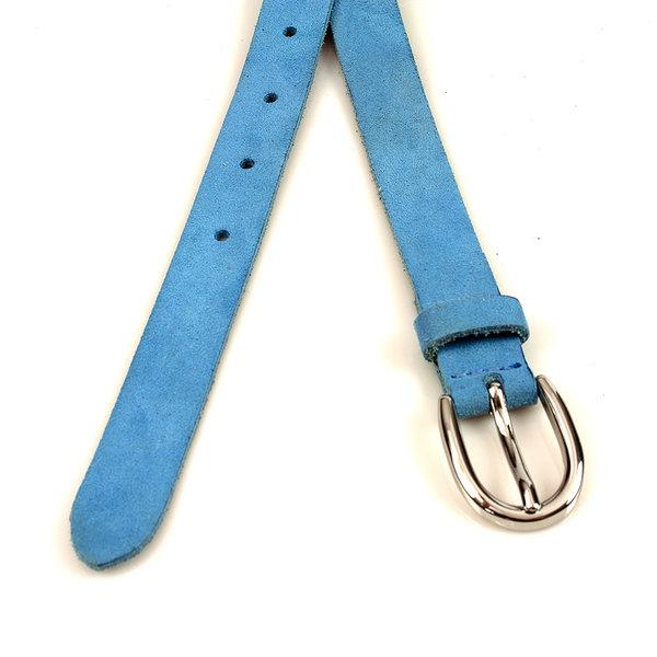 Thimbly Belts Smalle damesceintuur hemelsblauw