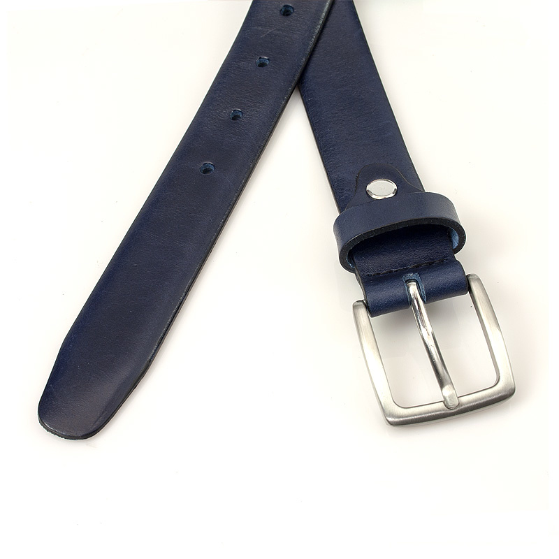 Thimbly Belts Blauwe pantalonriem