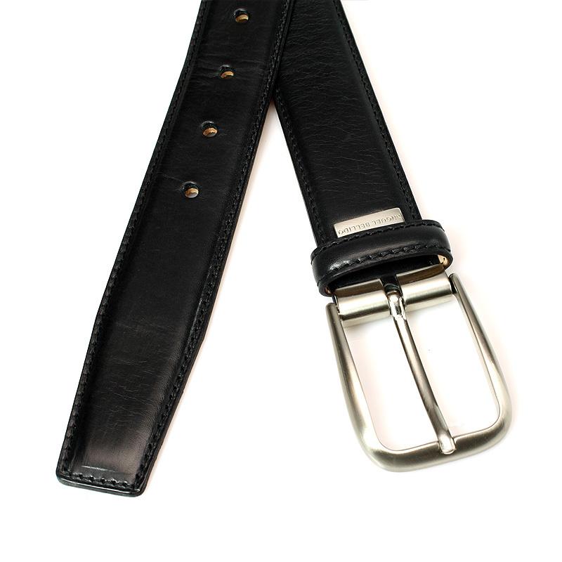 Miguel Bellido Classic Zwarte pantalon riem