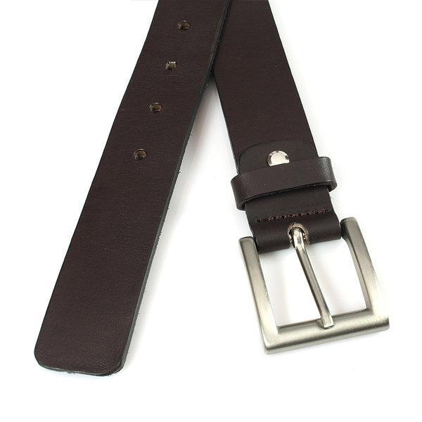 JV Belts Stoere jeans riem bruin