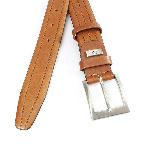 JV Belts Heren riem cognac