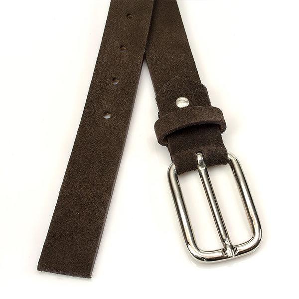 JV Belts Hippe bruine suède dames ceintuur