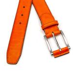 JV Belts Oranje herenriem