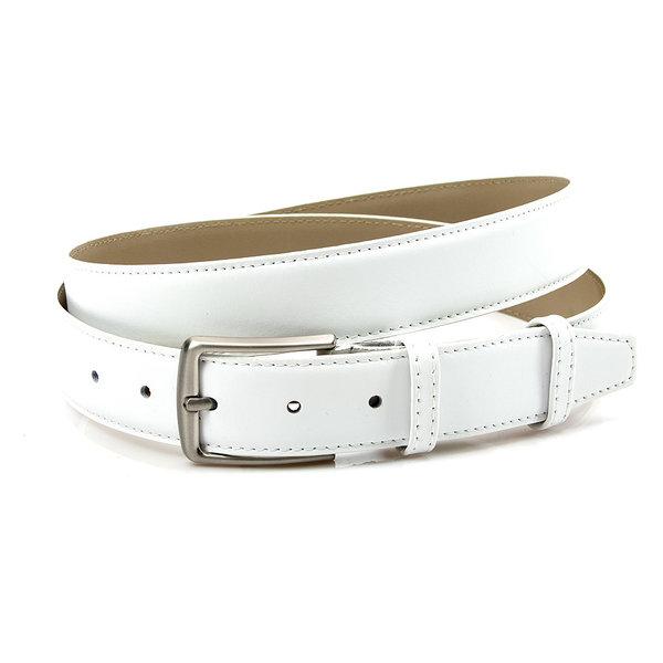 JV Belts Unisex riem wit