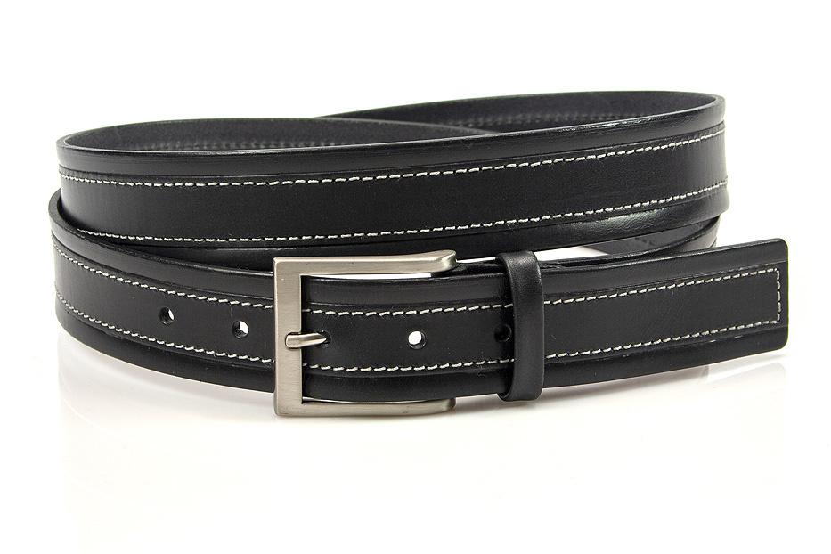 JV Belts Mooie zwarte pantalon riem