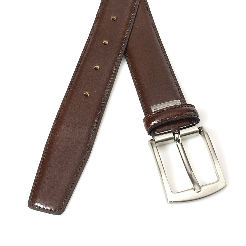 Miguel Bellido Classic Nette donker bruine pantalon riem