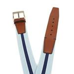 Gilmart Elastische blauwe heren riem
