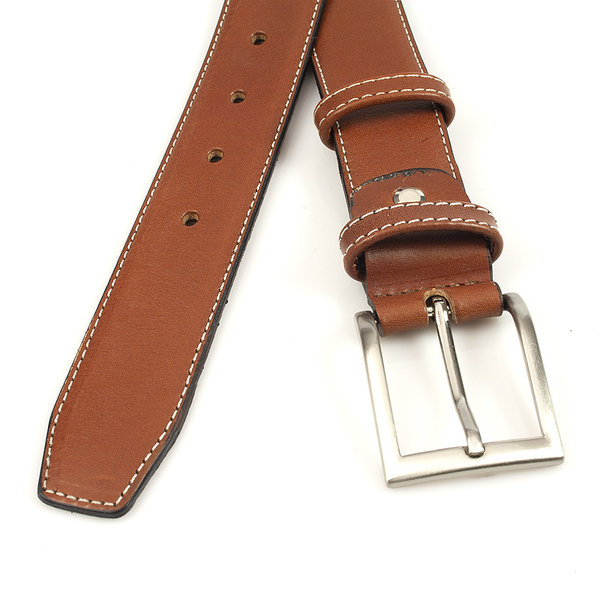 JV Belts Leren riem heren rood bruin