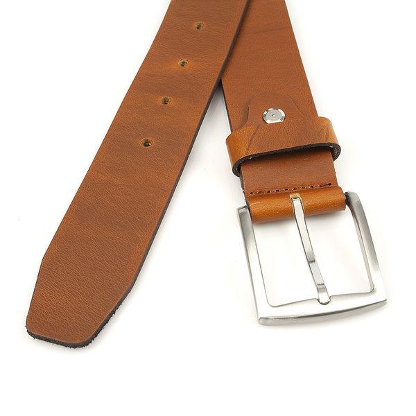 Thimbly Belts Jeans riem cognac