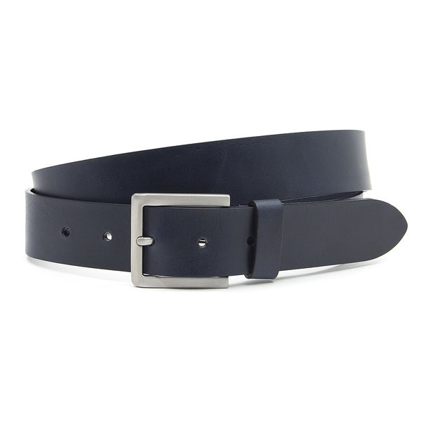 Thimbly Belts Donker blauwe dames/heren riem
