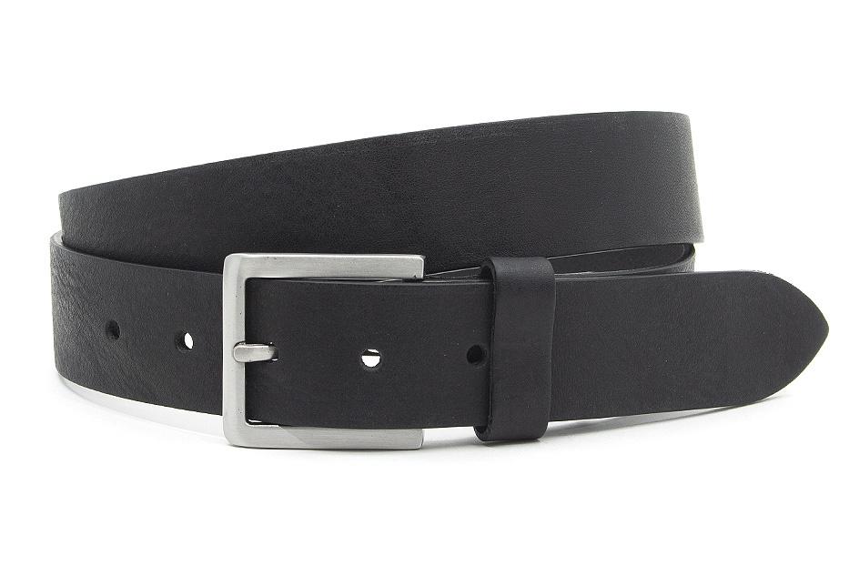 Thimbly Belts Zwarte dames/heren riem
