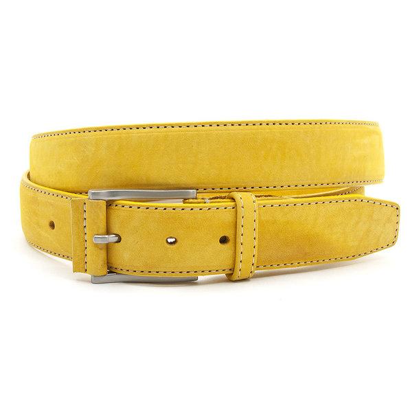 JV Belts Gele nubuck riem