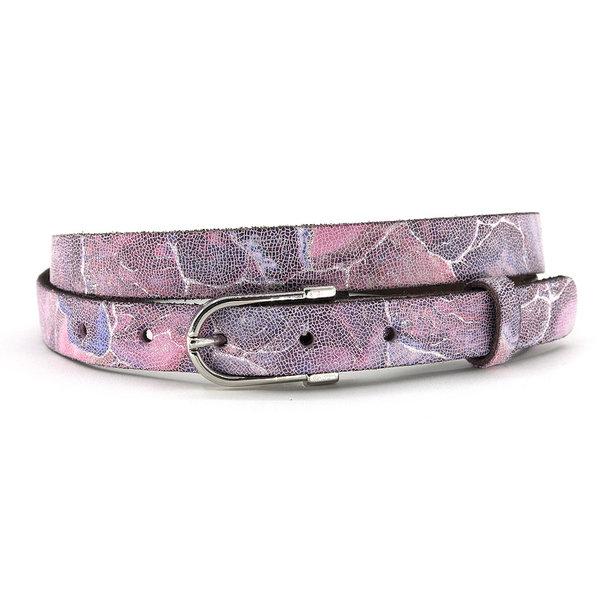 A-Zone Dames ceintuur roze/zilver