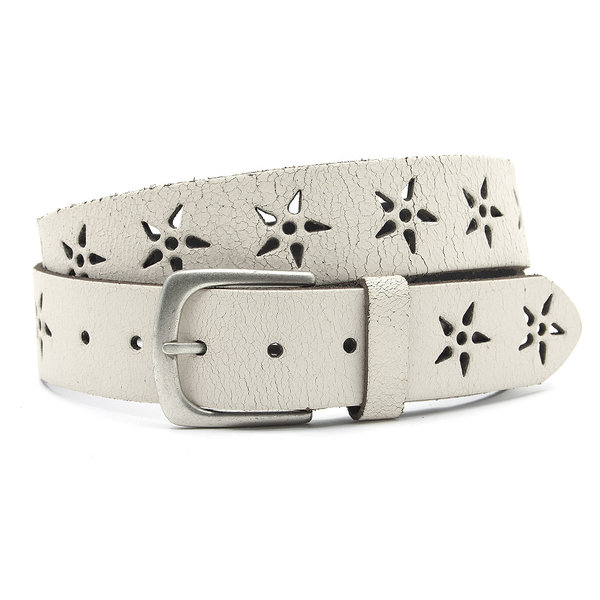 Thimbly Belts Dames riem wit