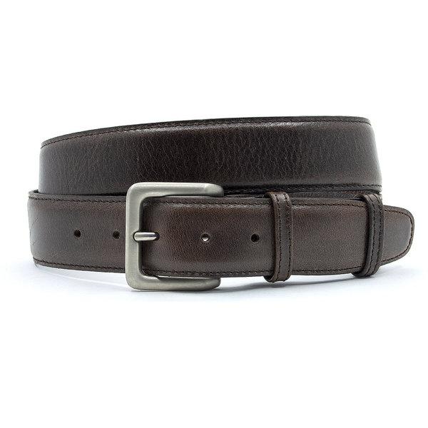 JV Belts Bruine leren herenriem