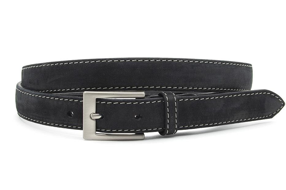 JV Belts zwarte smalle dames ceintuur