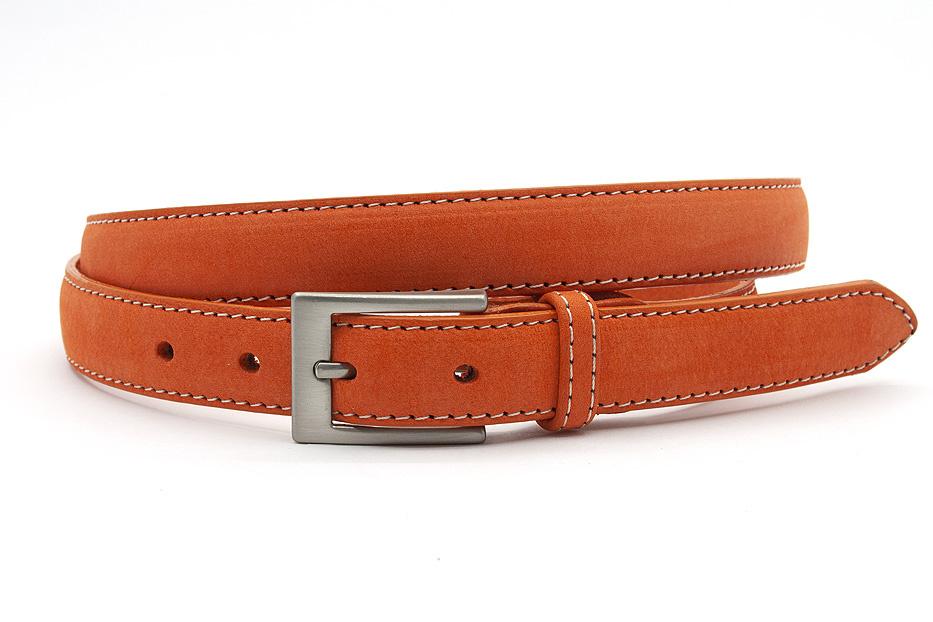 JV Belts Oranje smalle dames ceintuur