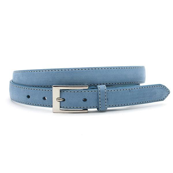 JV Belts Llicht blauwe nubuck dames ceintuur