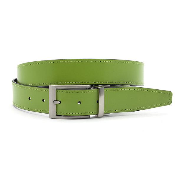 JV Belts Reversibel riem groen/zwart