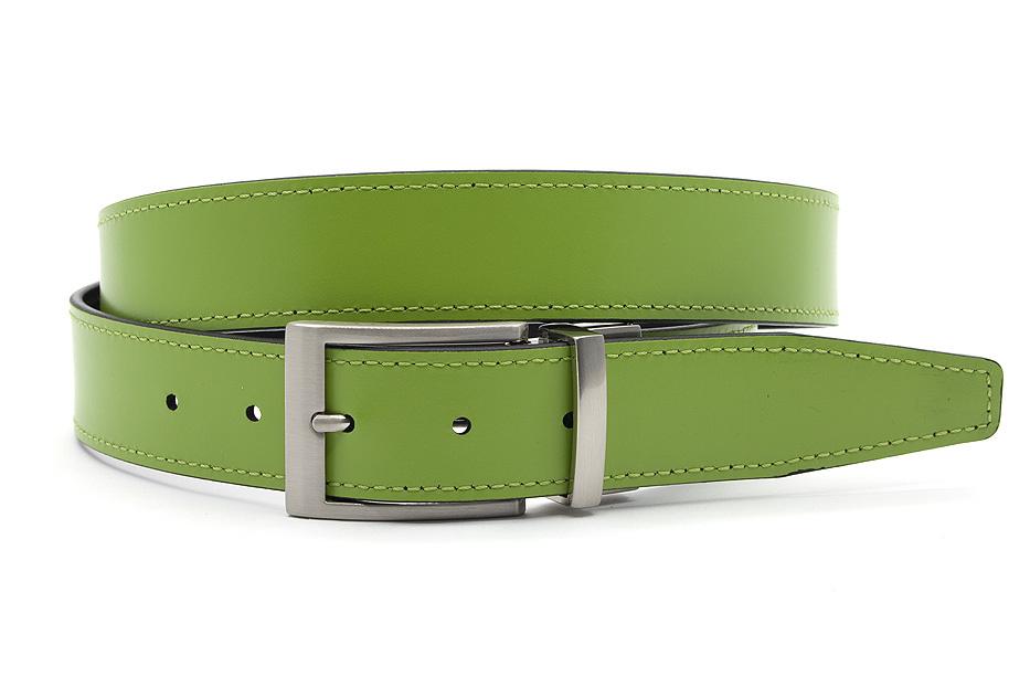 JV Belts Draaibare (reversibel) riem groen/zwart