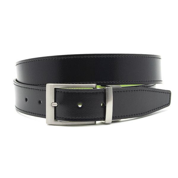 JV Belts Draaibare (reversibel) riem licht blauw/zwart