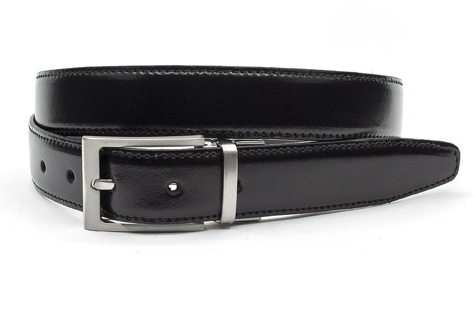 JV Belts Draaibare (reversibel) heren riem bruin/zwart