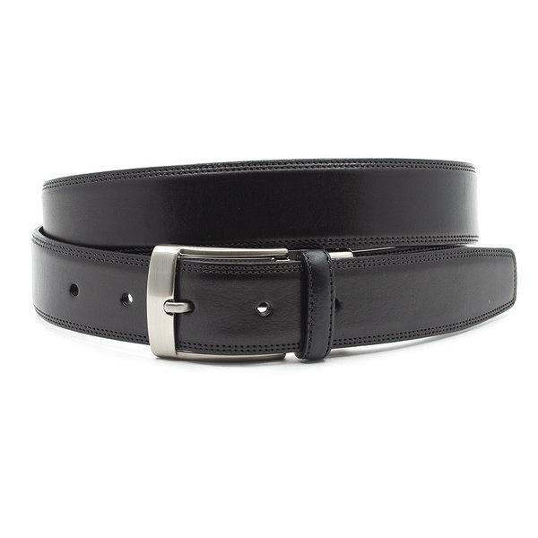 JV Belts Sportieve herenriem zwart glad