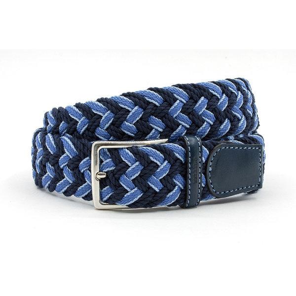 Miguel Bellido Sport Mooie blauwe geweven riem