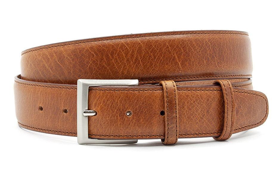 JV Belts Heren-dames riem cognac