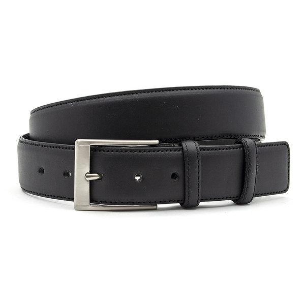 JV Belts Leren riem zwart