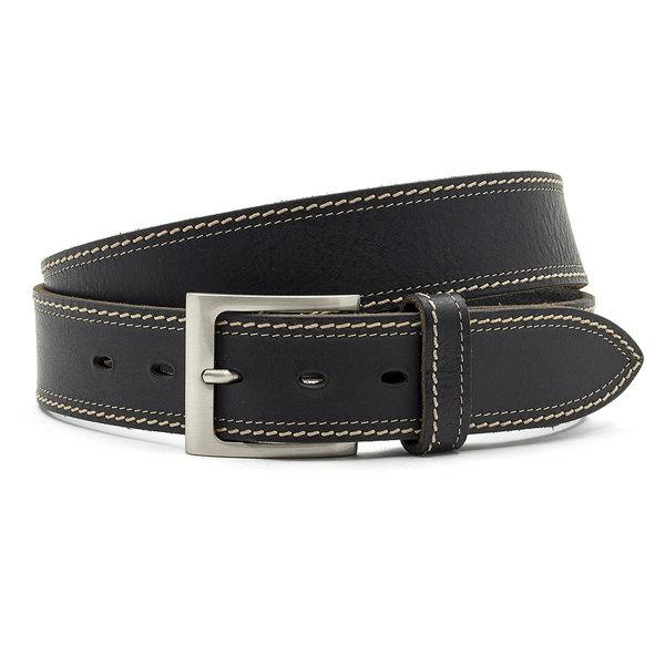 JV Belts Zwarte jeans riem