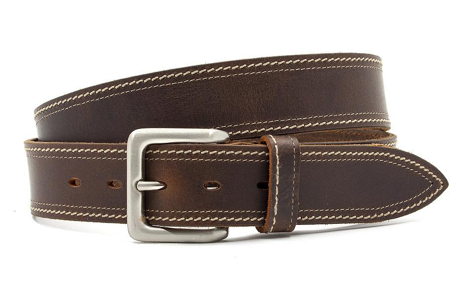 JV Belts Jeans riem bruin