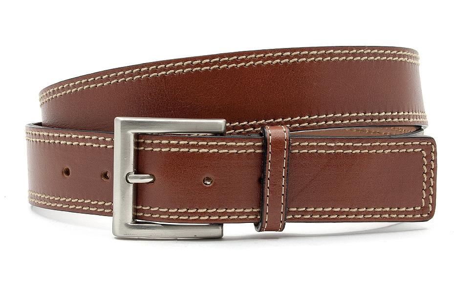 JV Belts Heren jeansriem cognac