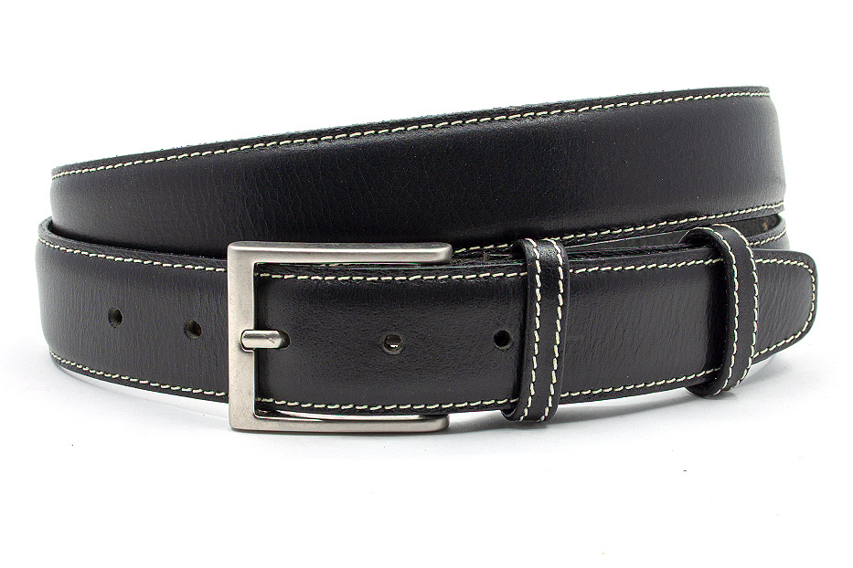 JV Belts Heren broek riem zwart