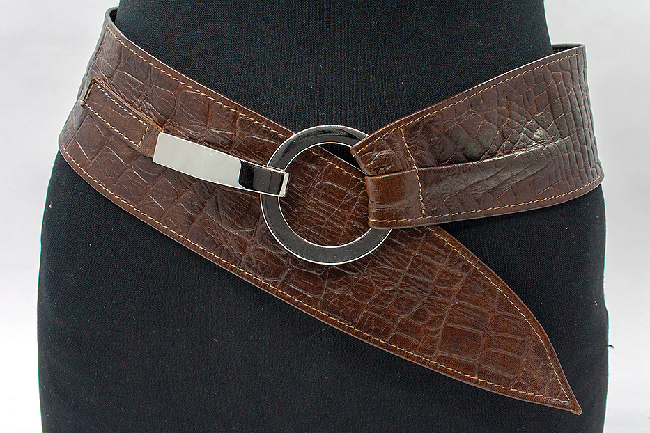 Thimbly Belts Afhang ceintuur bruin