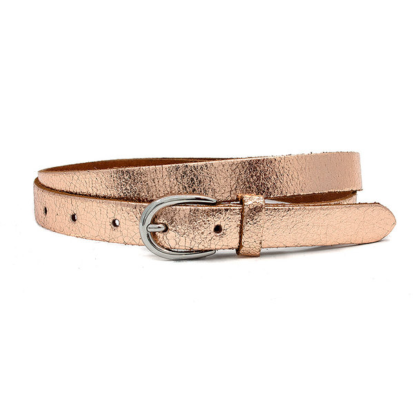 Thimbly Belts Damesceintuur rosé metallic
