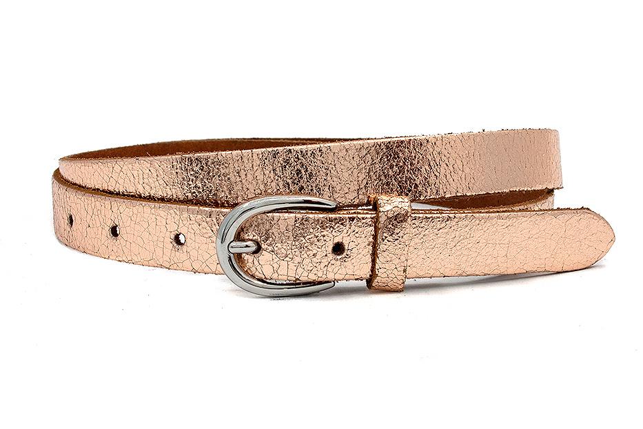 Thimbly Belts Damesceintuur rosé metallic