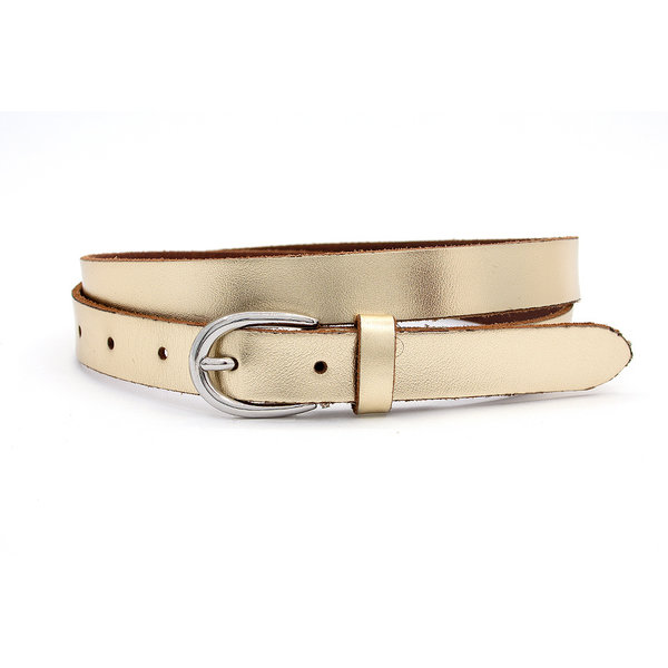 Thimbly Belts Smalle damesceintuur goud