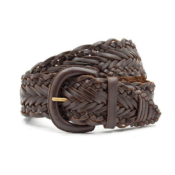 Thimbly Belts Vlechtceintuur bruin