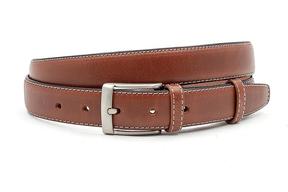 JV Belts Rood bruine pantalonriem