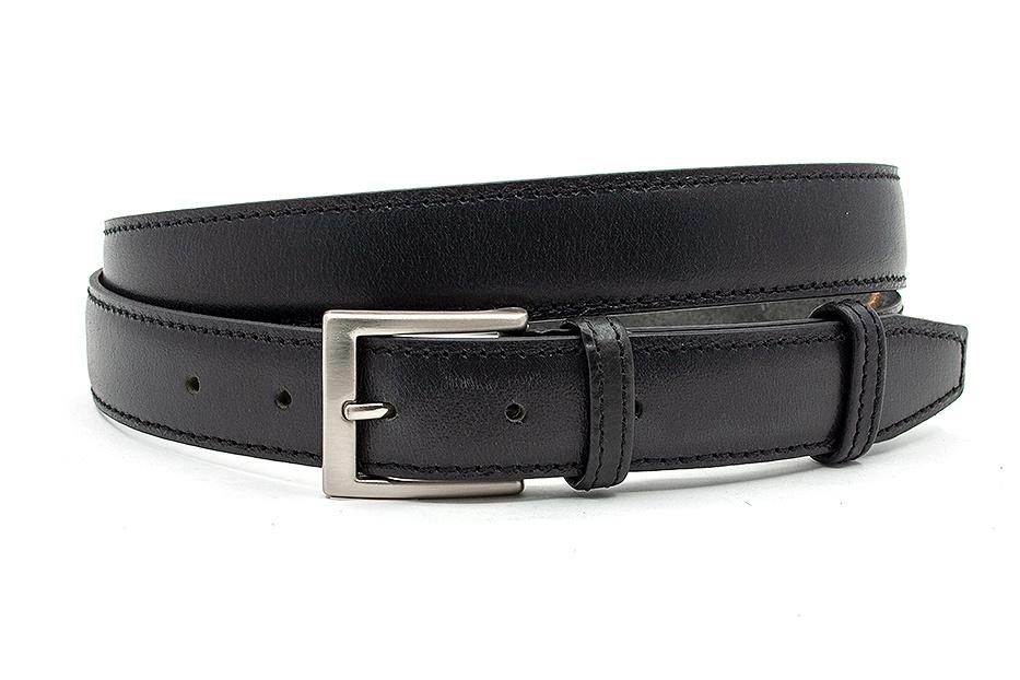 JV Belts Nette zwarte pantalonriem